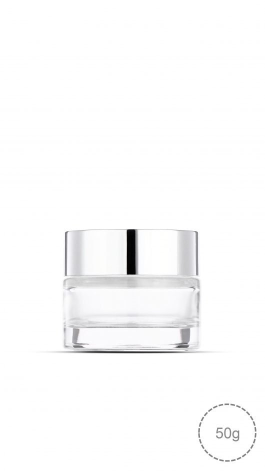 glass jar, cream, cream jar, high quality glass jar