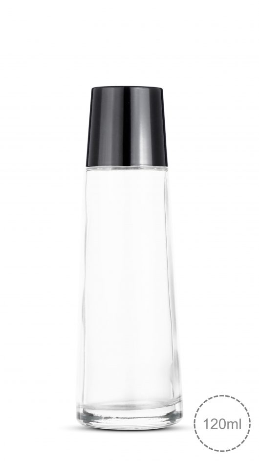 glass bottle, toner, corn shape, luxury