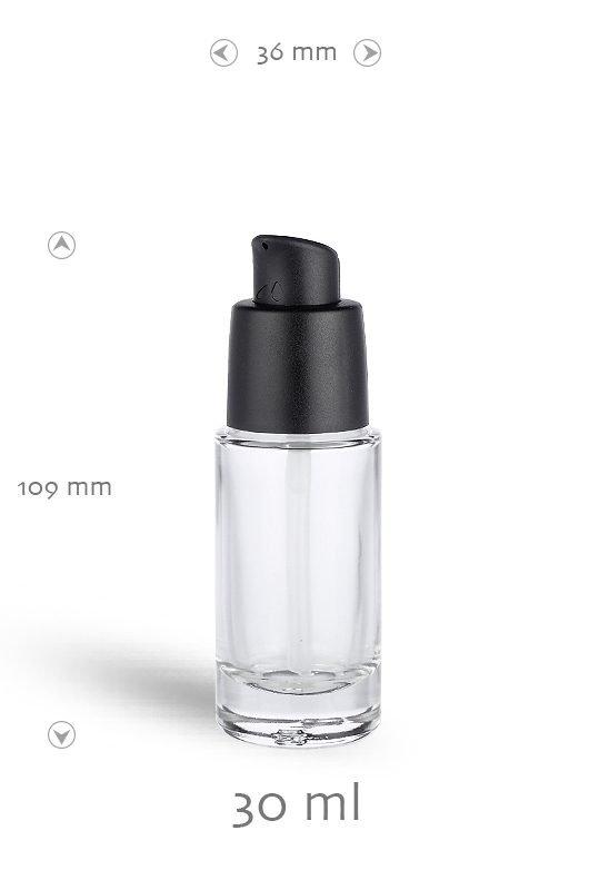 Foundation bottle, close/open pump, heavy bottom glass bottle, foundation bottle, serum, skin care packaging, make up,líquido de fundação,liquid foundation bottle