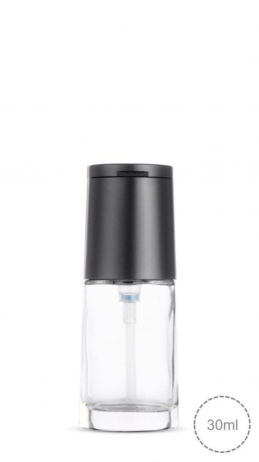 foundation liquid bottle, Concealer, Mirror cap, cosmetic packaging, mirror cap