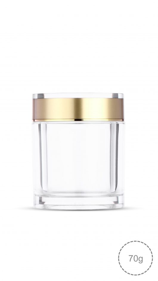 Acrylic jar, capsule, capsule jar, capsule can, health bottle, cosmetic jar