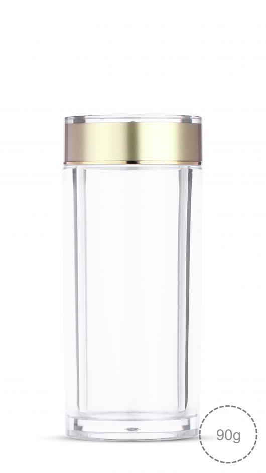Acrylic jar, capsule, capsule jar, capsule can, health bottle, cosmetic jar