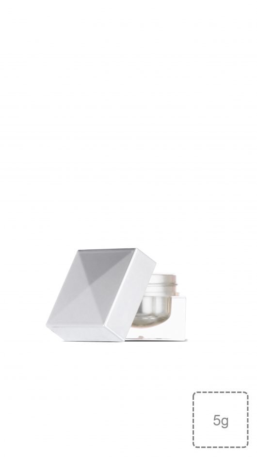 luxury jar, small jar, cream jar, tester, acrylic jar, eye shadow