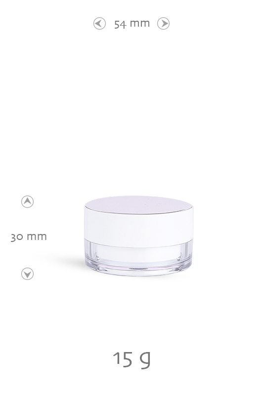 AS jar, PS jar, plastic jar, cream, skin care packaging
