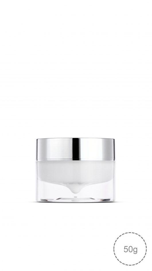 acrylic jar, double wall airless jar, airless jar, luxury, cream jar