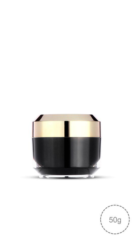 luxury jar, acrylic jar, skin care packaging, cream, luxury look packaging