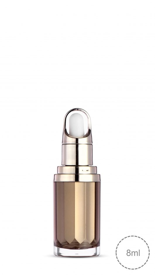 Acrylic bottle, Acrylic dropper bottle, luxury, metalized, small bottle