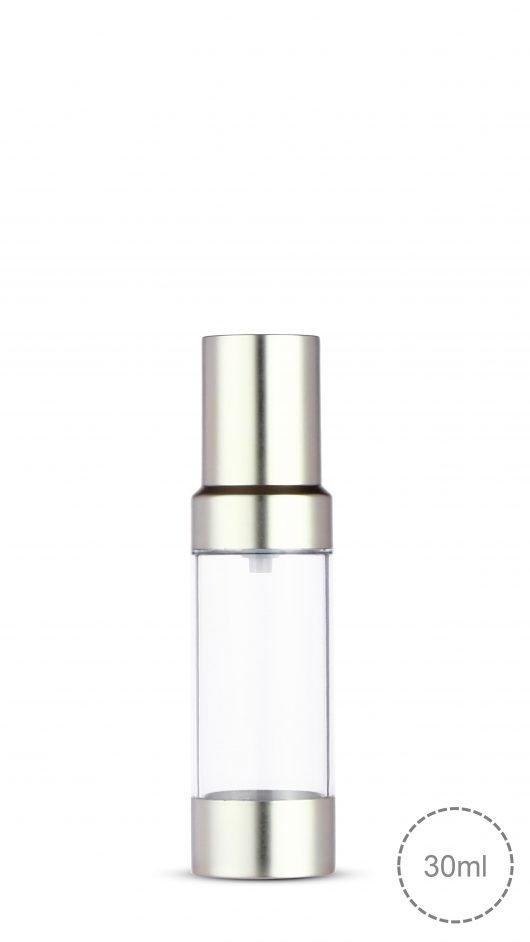 airless bottle, eye gel, skin care packaging