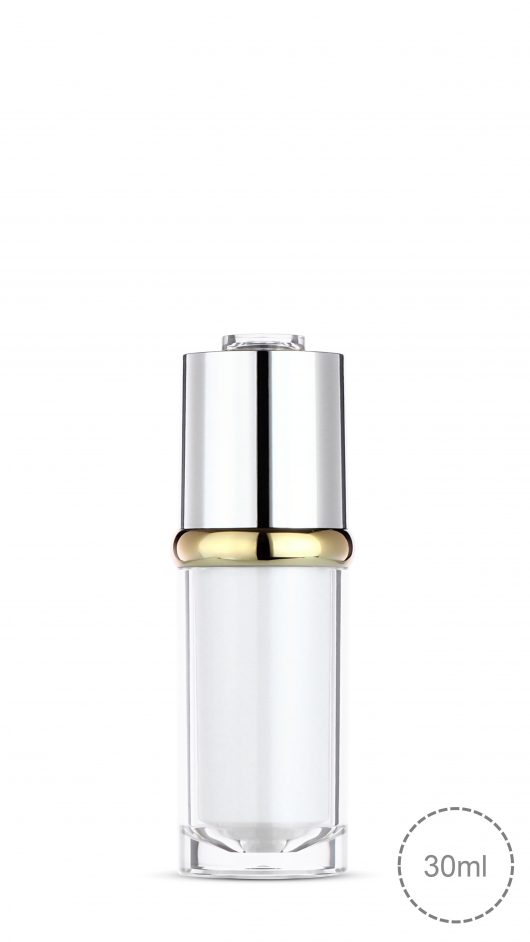 Acrylic dropper bottle, twist type dropper, luxury, serum,liquid foundation bottle
