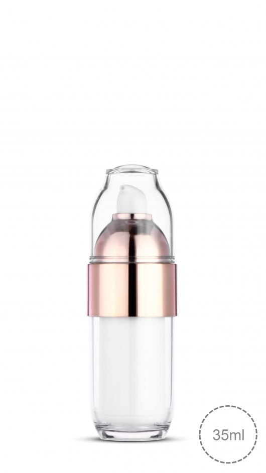 luxury packaging, refill bottle, airless bottle, PETG bottle, Korean style bottle, skin care
