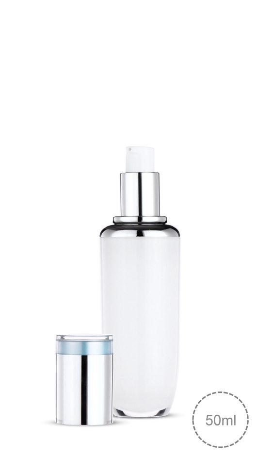 Luxury packaging, acrylic bottle, pump bottle, skin care, serum, lotion