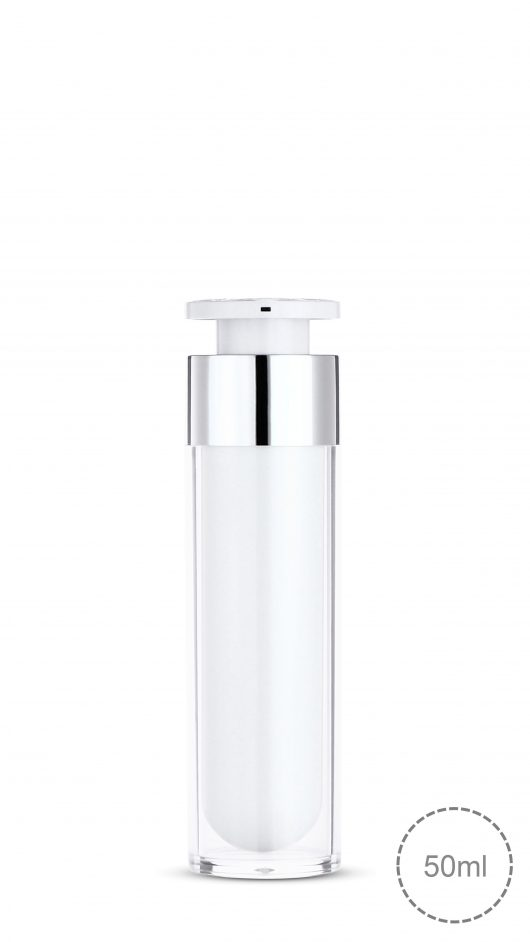 acrylic bottle, airless pump bottle, luxury, double layer airless, lotion, serum