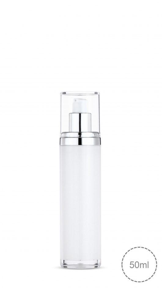 pump bottle, skin care acrylic pump bottle, square bottle, luxury