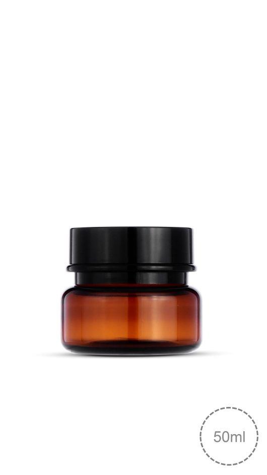 茶色PET 霜, PET jar
